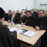 Преосвященнейший Иоанн провел собрание духовенства Брестского городского благочиния
