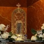В КРИПТУ ВСЕХСВЯТСКОГО ХРАМА ЗАЛОЖЕНА КАПСУЛА С ЗЕМЛЕЙ С МОГИЛЫ МАКСИМА БОГДАНОВИЧА