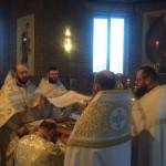 Владыка Иоанн отслужил Литургию в Храме Рождества Христова г. Бреста.