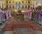 Владыка Иоанн отслужил Литургию в Николаевском храме Бреста и провел собрание духовенства Брестского городского округа.