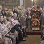 В Великий Четверток Владыка Иоанн совершил Вечерню, Литургию и Чин умовения ног в кафедральном соборе г. Бреста.