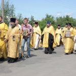 Настоятель и прихожане Христорождественской церкви приняли участие в торжествах по случаю Собора Белорусских святых.