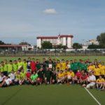 Братство Христорождественского прихода приняло участие в турнире по мини-футболу.