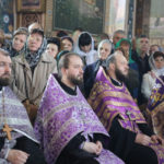 Настоятель Христорождественского прихода принял участие в Чине омовения ног.
