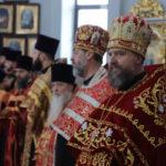 Настоятель Христорождественского храма сослужил Архиепископу Иоанну в Пасхальной Вечерне.
