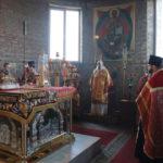 Архиепископ Иоанн возглавил Пасхальную Вечерню в храме Рождества Христова г. Бреста.