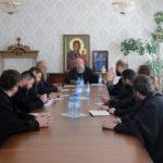 Состоялось совещание духовенства епархии, возглавленное Архипастырем.