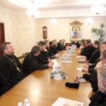 В здании Брестского епархиального управления состоялось собрание настоятелей храмов и приходов Брестского городского благочиния.