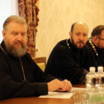 Настоятель Христорождественского прихода принял участие в  собрании настоятелей городских приходов епархии.