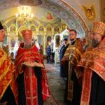 Клирик Христорождественского прихода сослужил архиепископу Иоанну в храме Рождества Пресвятой Богородицы г.Бреста.