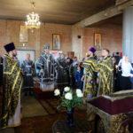 Во вторник Страстной седмицы Архиепископ Иоанн совершил Божественную литургию в храме Рождества Христова в г. Бресте.
