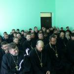 Клир Христорождественского прихода принял участие во встрече с правящим архиереем.