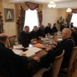 Настоятель Христорождественского прихода приняд участие в  очередном заседании Епархиального совета Брестской епархии.