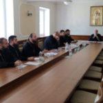 Настоятель Христорождественского прихода принял участие в епархиальном экзамене для абитуриентов духовных школ.