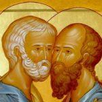 Праздник первоверховных апостолов Петра и Павла.