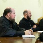 Председатель епархиального отдела образования и катехизации принял участие в рабочем совещании по обсуждению документа «Основы приходского просвещения».