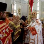 Настоятель Христорождественской церкви принял участие в праздничном боговлужении в Воскресенском соборе г.Бреста