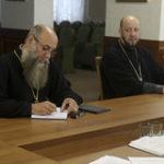 Настоятель Христорождественского прихода принял участие в засединии оргкомитета , посвященного 30-летию Брестской епархии.