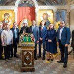 В Минской духовной академии состоялась презентация Туровского креста.
